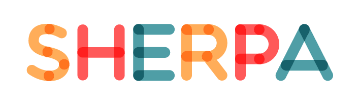 logo sherpa sense tagline