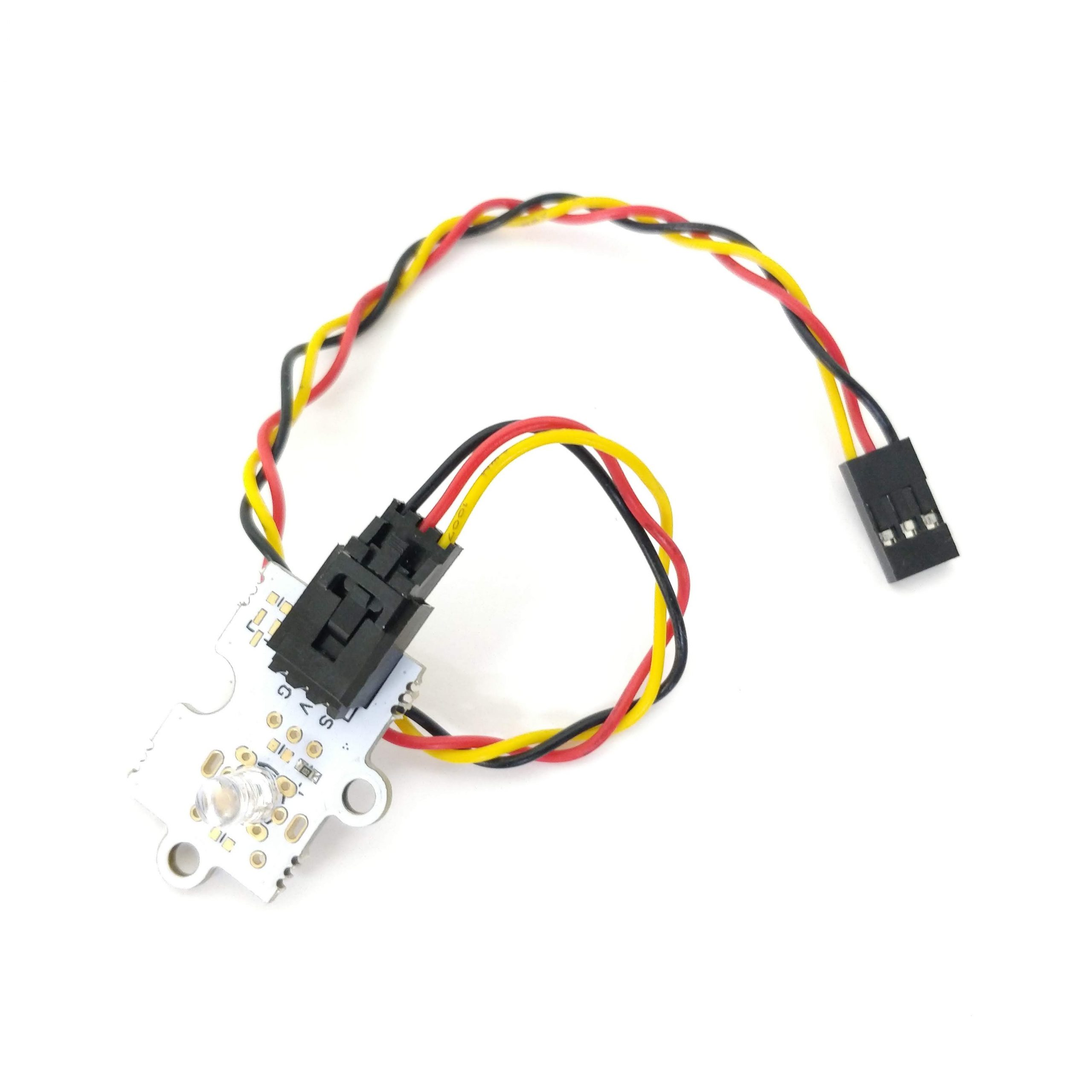 Imatge led 5mm eBotics + cable